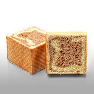 X-Cube® caramel (façon panettone)