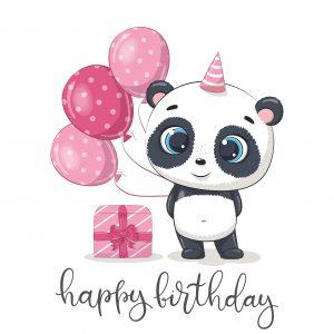 Chocopanda – Happy Birthday